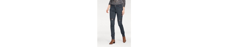 Coccara Slim-fit-Jeans BELLA GLAM RIDE, mit Pailletten-Details