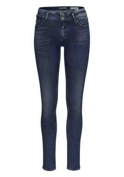 Garcia Slim-fit-Jeans »Rachelle Super Slim«, mit breitem 2-Knopf-Bund