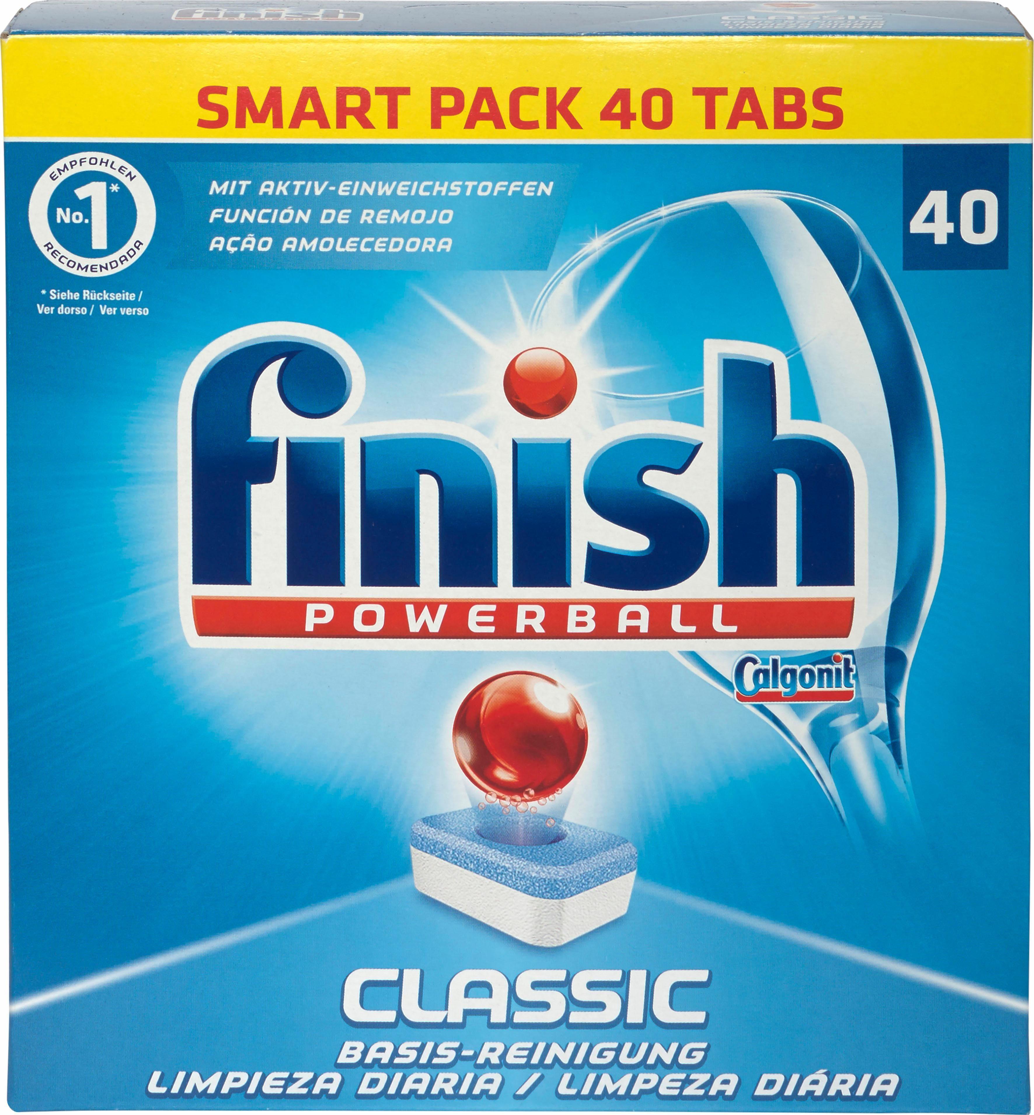 Calgonit, »Calgonit Finish Classic Tabs«, Spülmaschinen Tabs, 40 Stück
