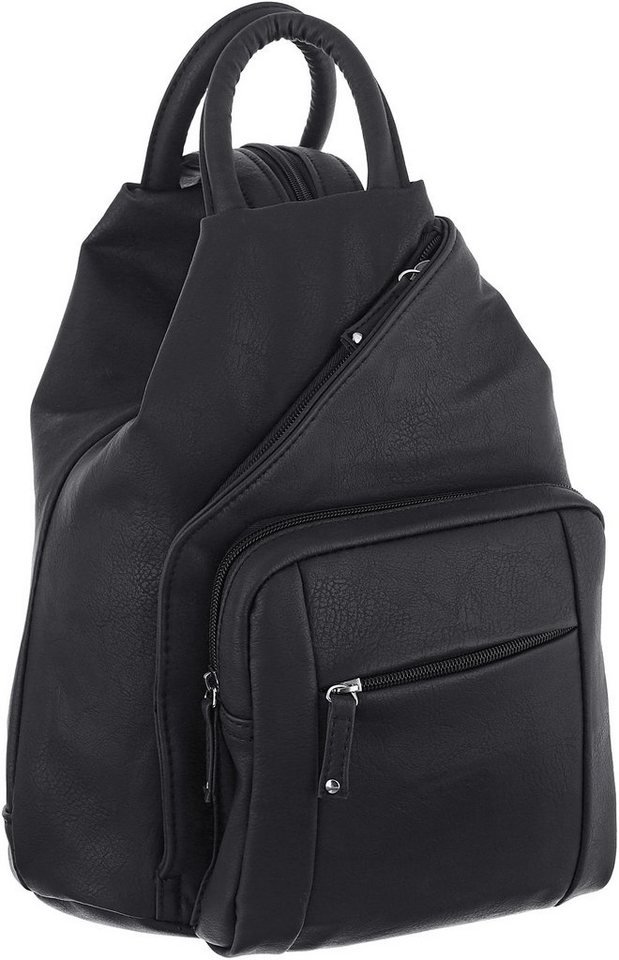 j jayz cityrucksack mit verstellbaren schulteriemen mit. Black Bedroom Furniture Sets. Home Design Ideas