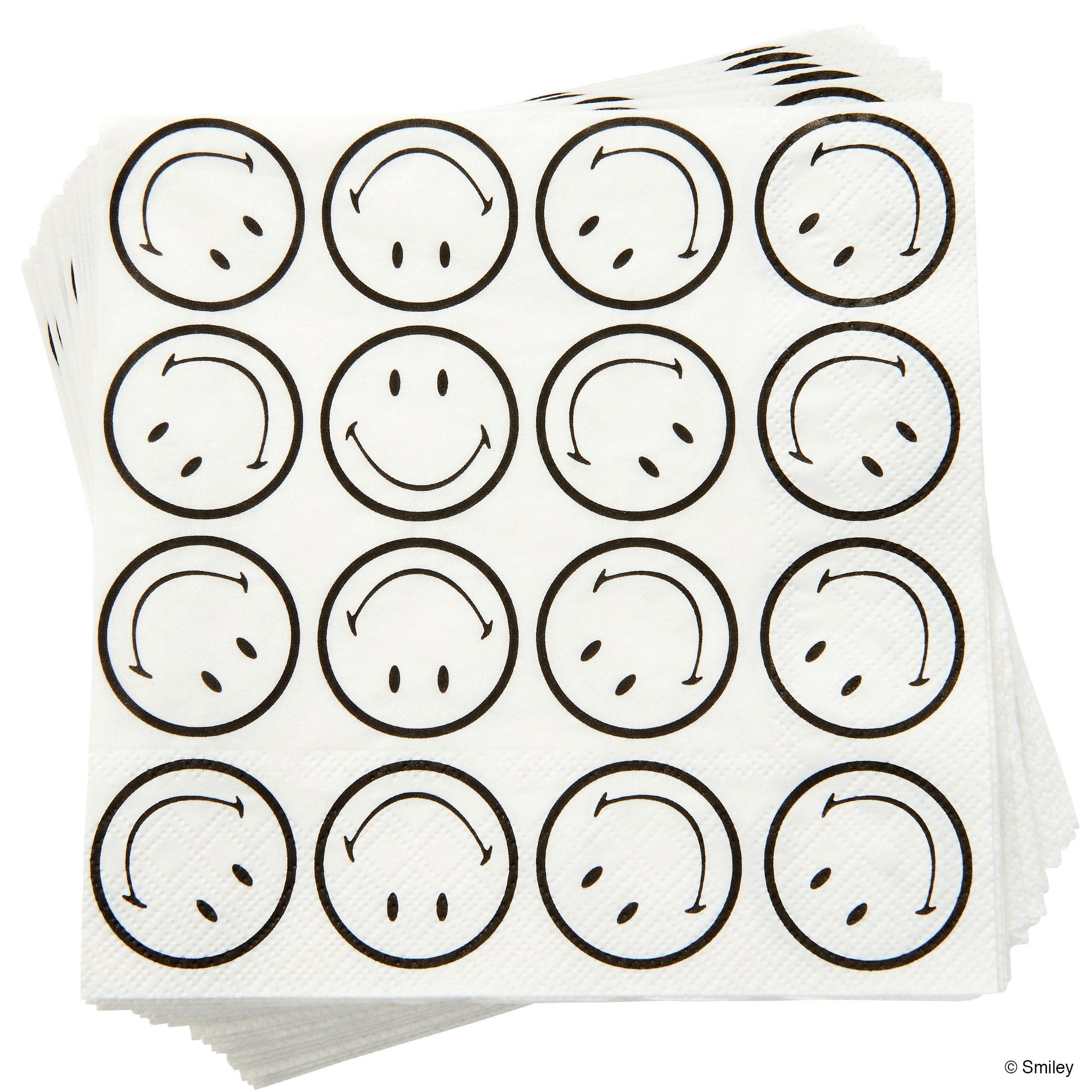 BUTLERS SMILEY »Papierserviette Smiley«