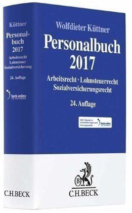 Gebundenes Buch »Personalbuch 2017«