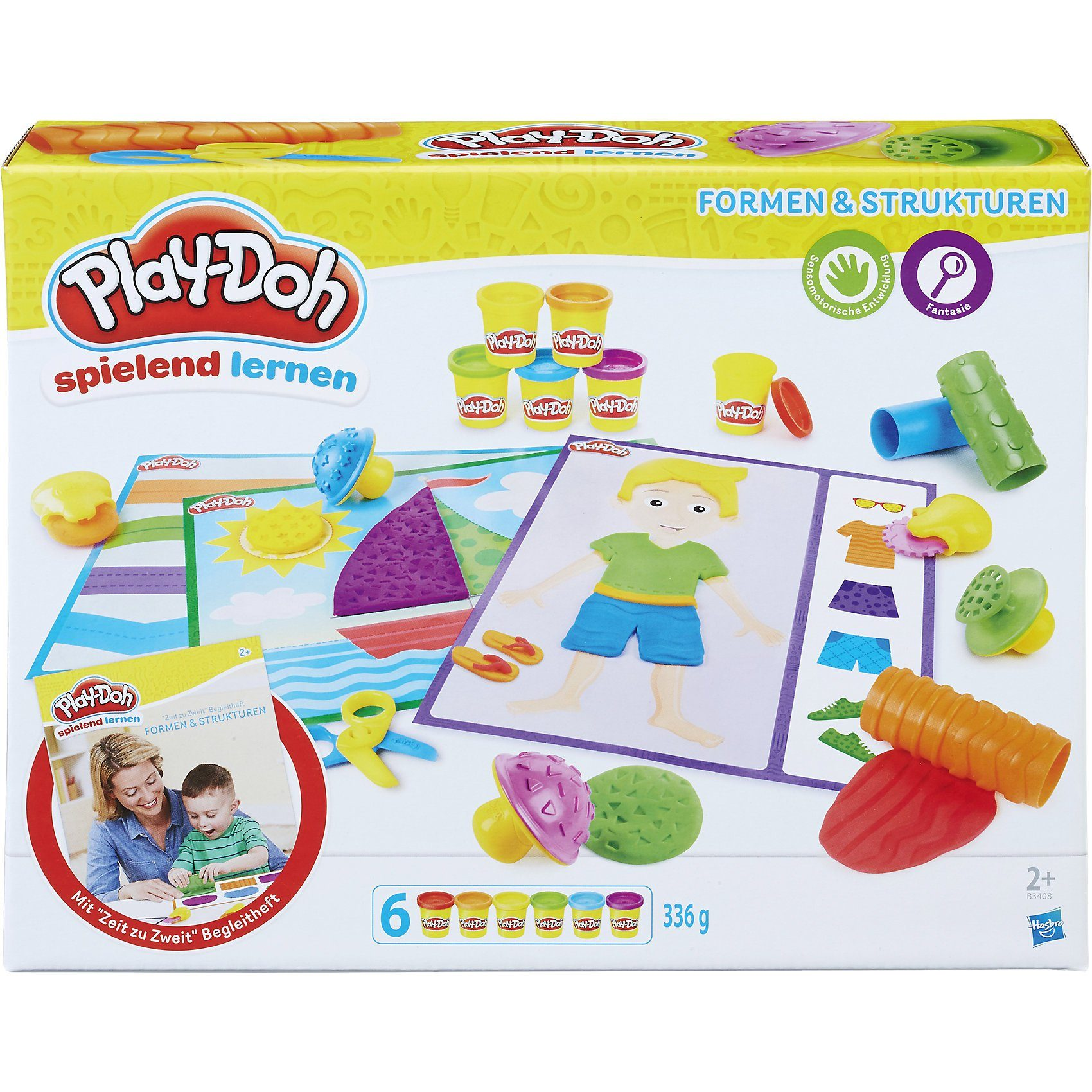 Hasbro Play-Doh Spielend Lernen Formen & Strukturen
