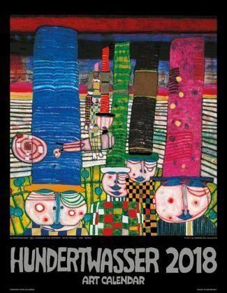 Kalender »Hundertwasser Art Calendar 2018«