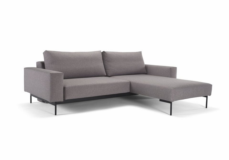 innovation schlafsofa im scandinavian design mit ottomane und 2 armlehnen bragi online kaufen. Black Bedroom Furniture Sets. Home Design Ideas