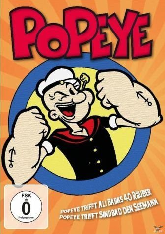 DVD »Popeye-der Seemann (Opoeye trifft Ali Babas 40...«