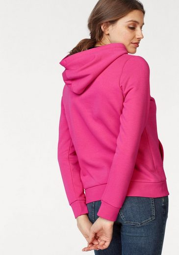 Gant Kapuzensweatshirt, mit kontrastfarbenem Kapuzenfutter