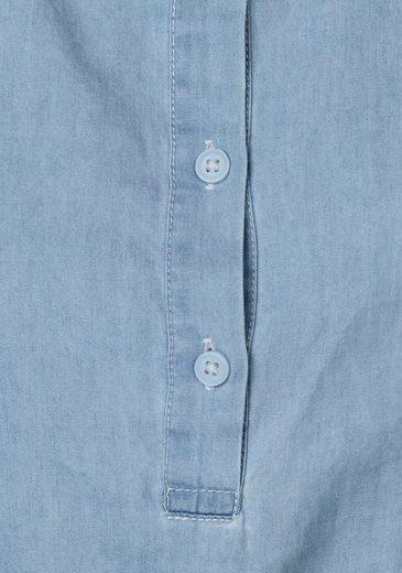 Object Jeanskleid Cansas, im Hemdblusen-Look