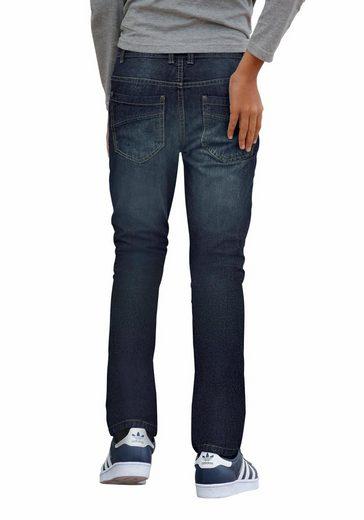 Arizona Stretch-Jeans regular fit mit geradem Bein und praktischen Taschen hinten und vorn