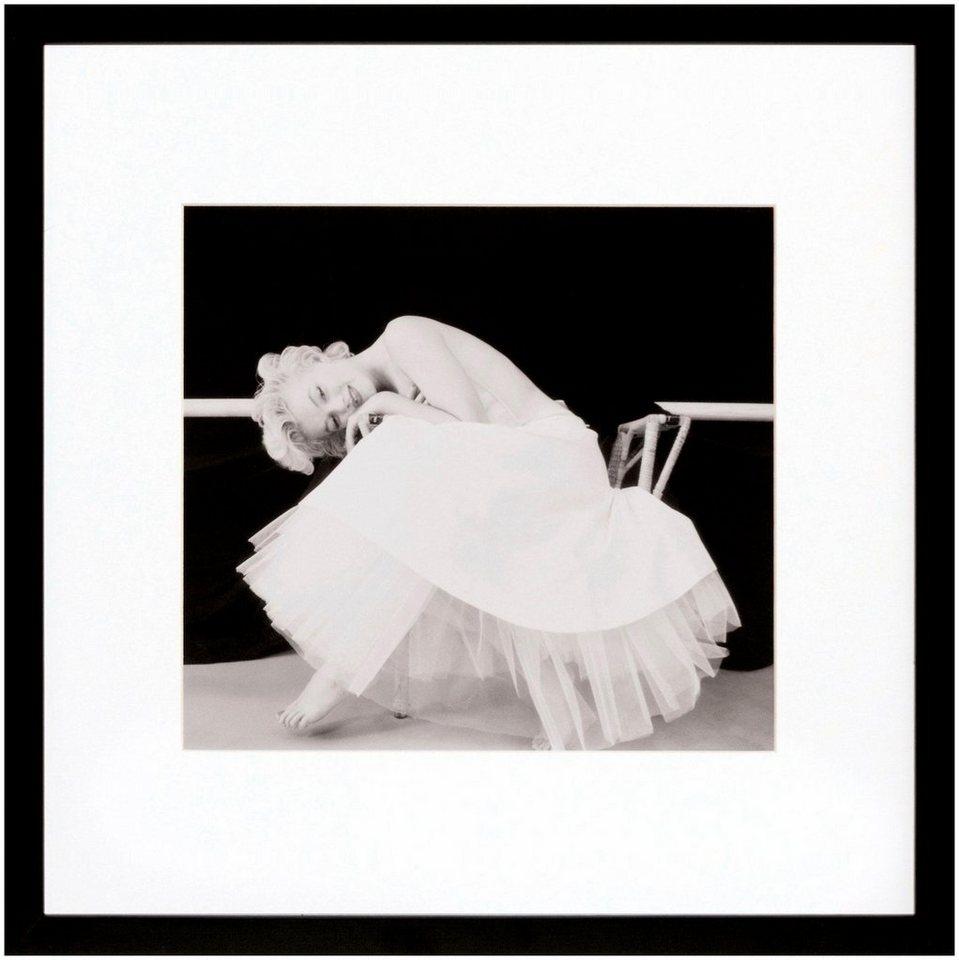 G&C Bild »Marilyn Monroe Motiv 2«, Starplakat, 40/40 cm, gerahmt ...
