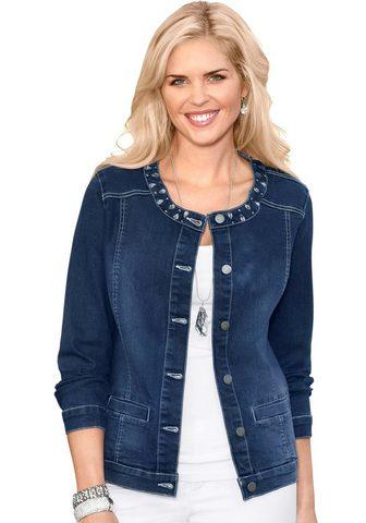 CLASSIC BASICS Куртка джинсовая с effektvollen блестя...