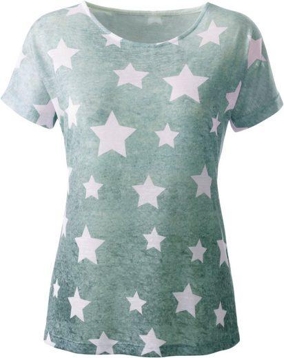 Collection L. Shirt im modischen Farbverlauf