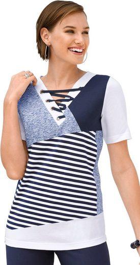 Classic Basics Shirt in markanter Patch-Optik