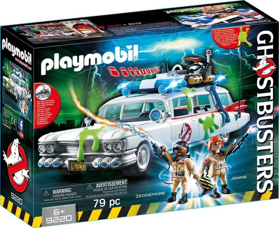 playmobil ghostbusters ecto 1 9220 ghostbusters online kaufen otto. Black Bedroom Furniture Sets. Home Design Ideas