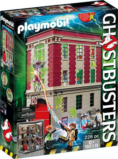 Playmobil® Konstruktionsspielsteine »Ghostbusters Feuerwache (9219), Ghostbusters«