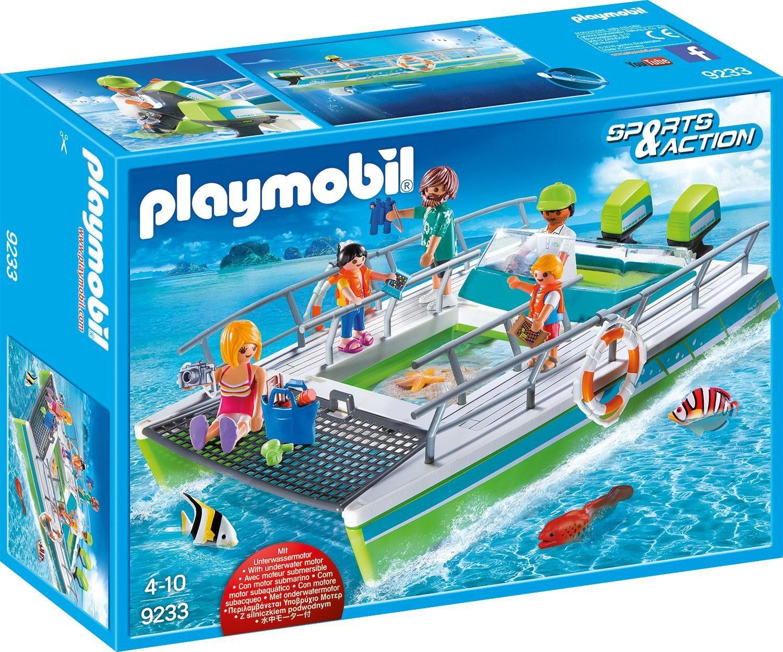Playmobil® Glasbodenboot mit Unterwassermotor (9233), »Sports & Action«