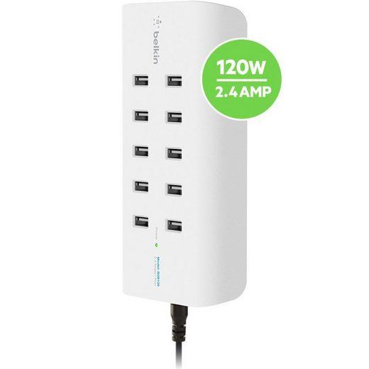 Belkin Lader »10-Port USB-Ladestation,120W, 2,4A pro Port«