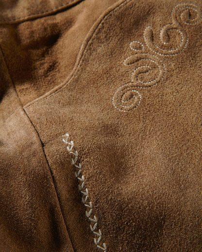 Almsach Lederhose mit Stickerei