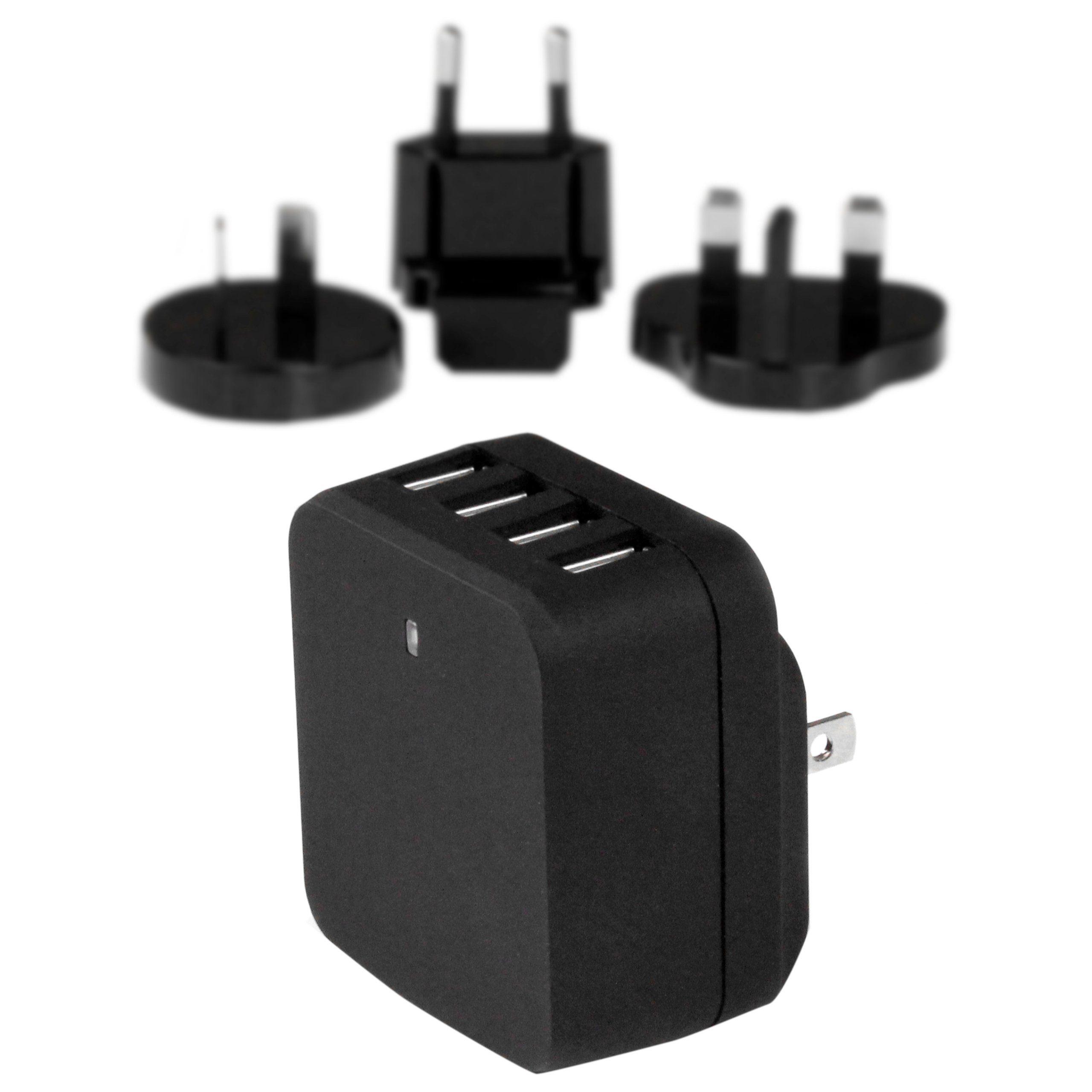StarTech.com USB »4 Port USB Ladegerät - Reiselader - Schwarz«