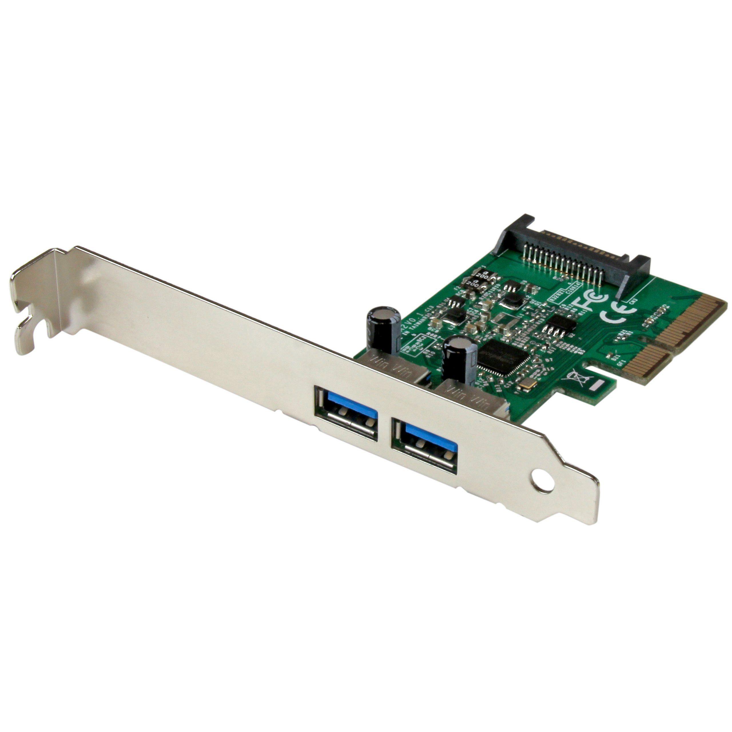 StarTech.com USB »2 Port USB 3.1 Gen 2 (10Gbit/s) Karte«