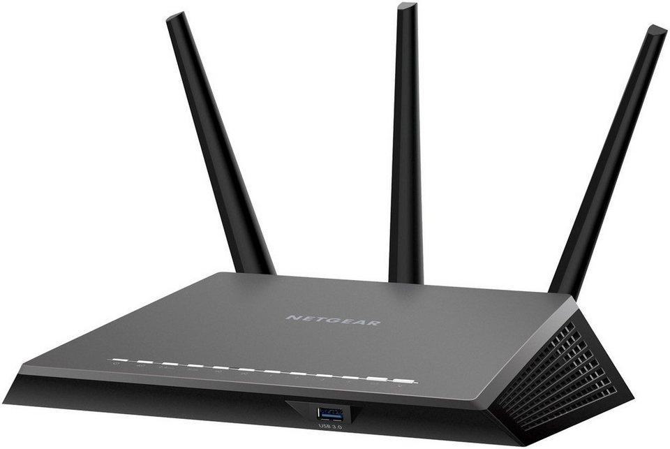 netgear nighthawk ac2300 smart wlan router r7000p dual. Black Bedroom Furniture Sets. Home Design Ideas