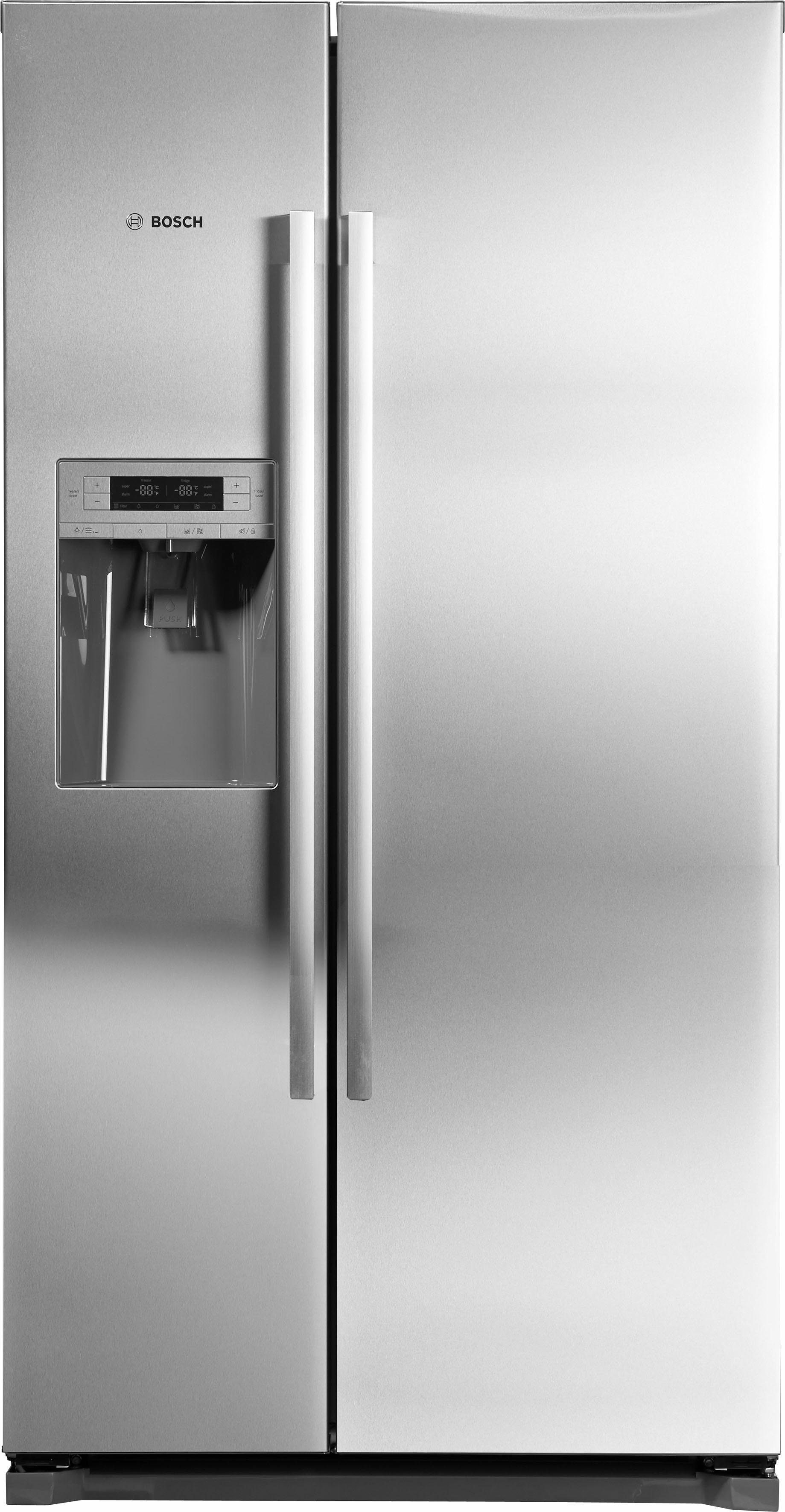 BOSCH Side-by-Side 151 KAD90VI30, 177 cm hoch, 59,5 cm breit, Energieeffizienzklasse: A++, 177 cm hoch, NoFrost