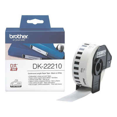 Brother Thermorolle »DK-22210«, Endlosrolle B/L 29 mm/30,48 m