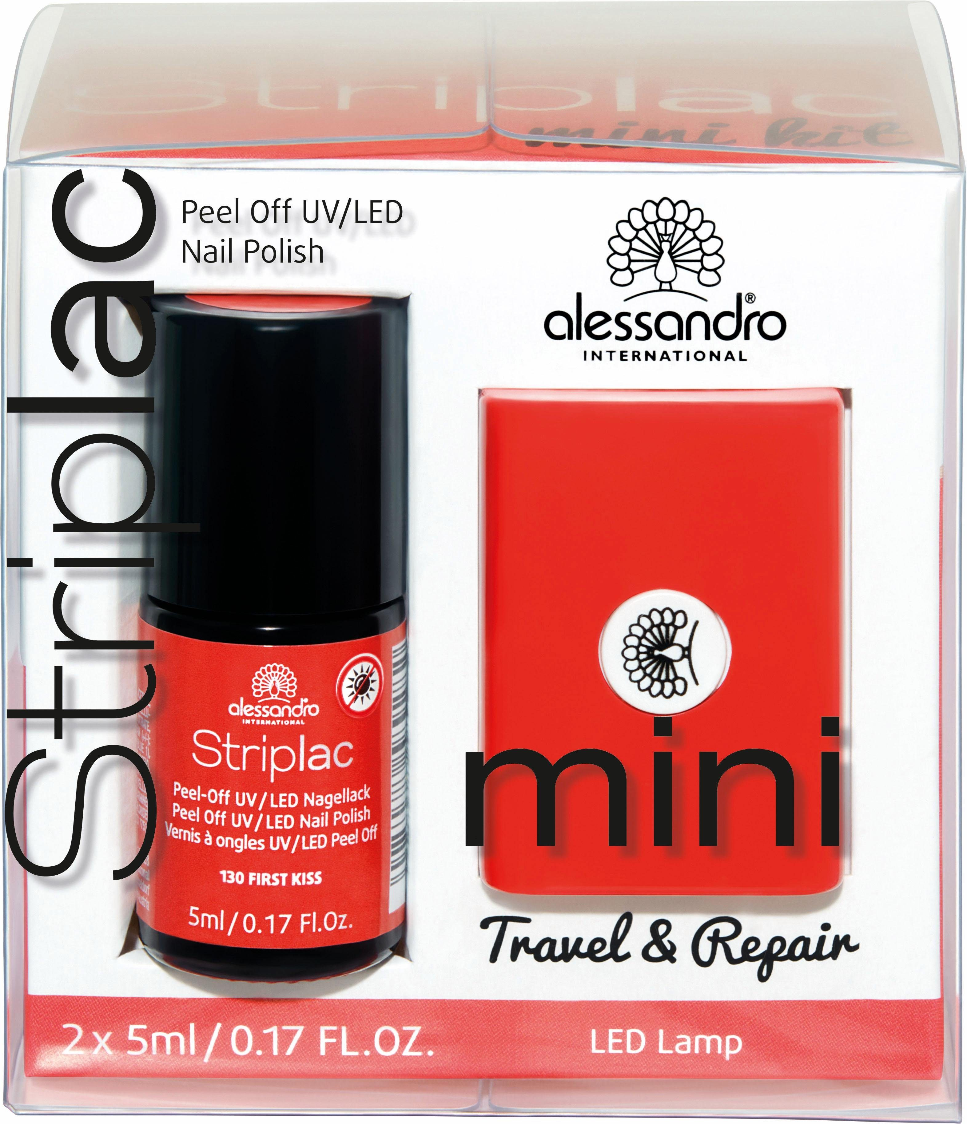 alessandro International, »Striplac Mini Set«, Nagellack-Set