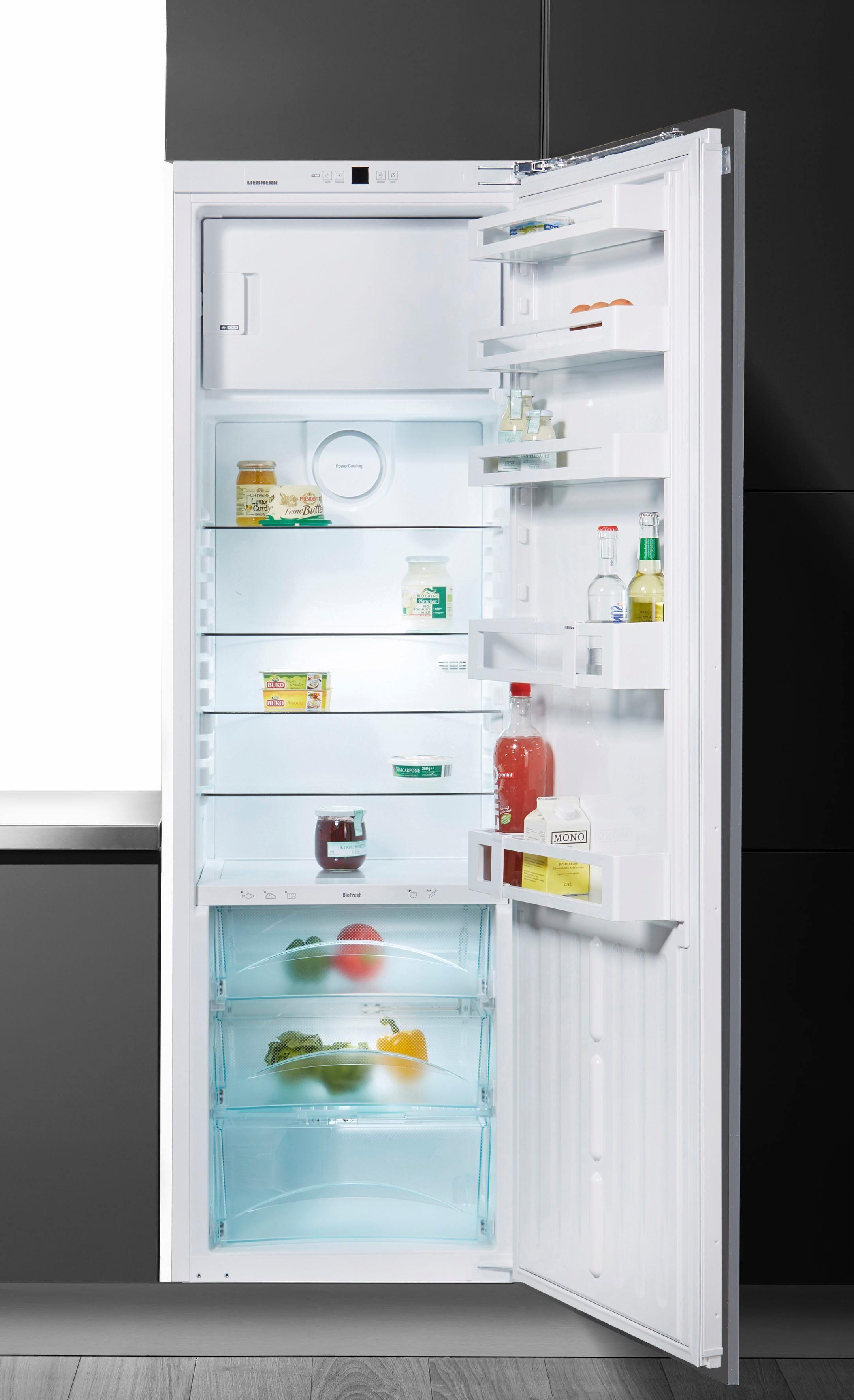 Liebherr Einbaukühlgefrierkombination IKBP3524-20, 177 cm hoch, 54,5 cm breit, Energieeffizienzklasse: A+++, 177 cm hoch, BioFresh