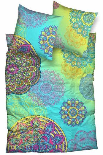 Bettwäsche »Eivissa«, sister s., mit farbenfrohen Mandalas