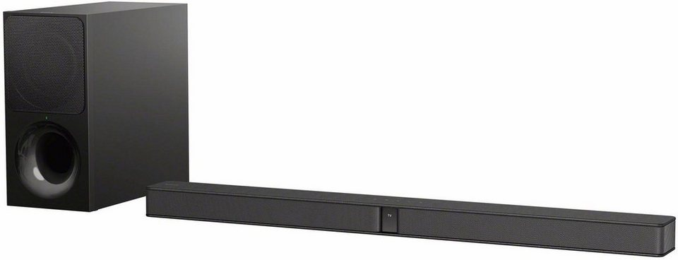 sony ht ct290 ct291 2 1 kanal soundbar 300w bluetooth. Black Bedroom Furniture Sets. Home Design Ideas