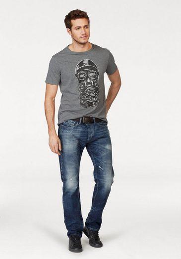 Replay T-shirt, Mit Frontprint