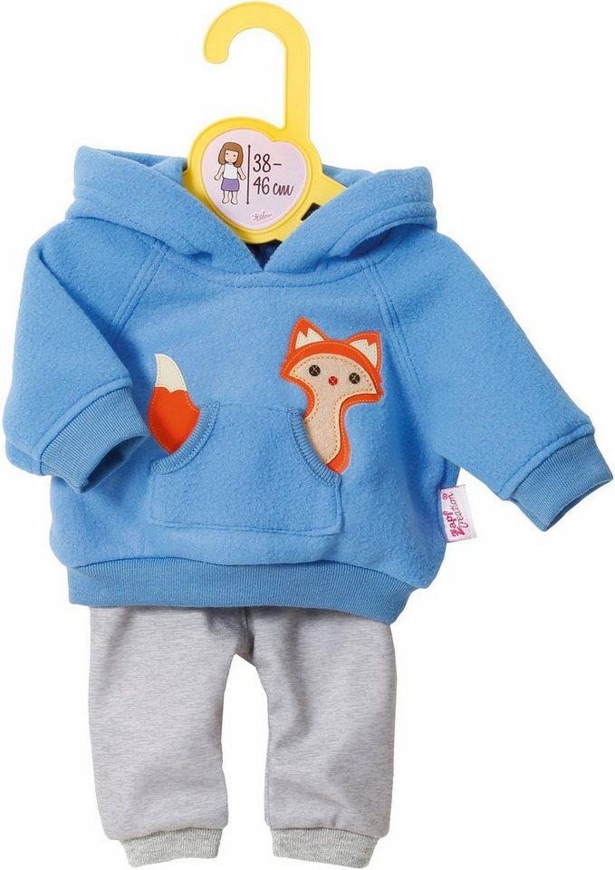 Zapf Creation Puppenbekleidung Größe 38-46 cm, cm, cm,  Dolly Moda Sport-Outfit Blau  online kaufen cf3b0d