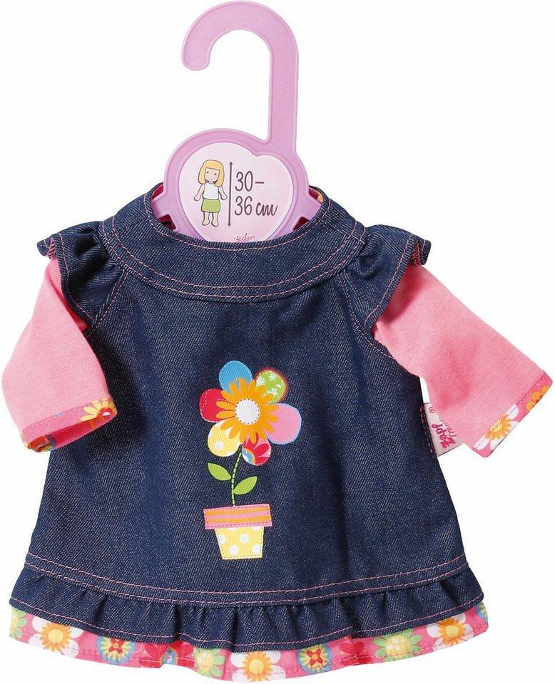 Zapf Creation Puppenbekleidung Größe 30-36 cm,  Dolly Moda Jeanskleid  online kaufen