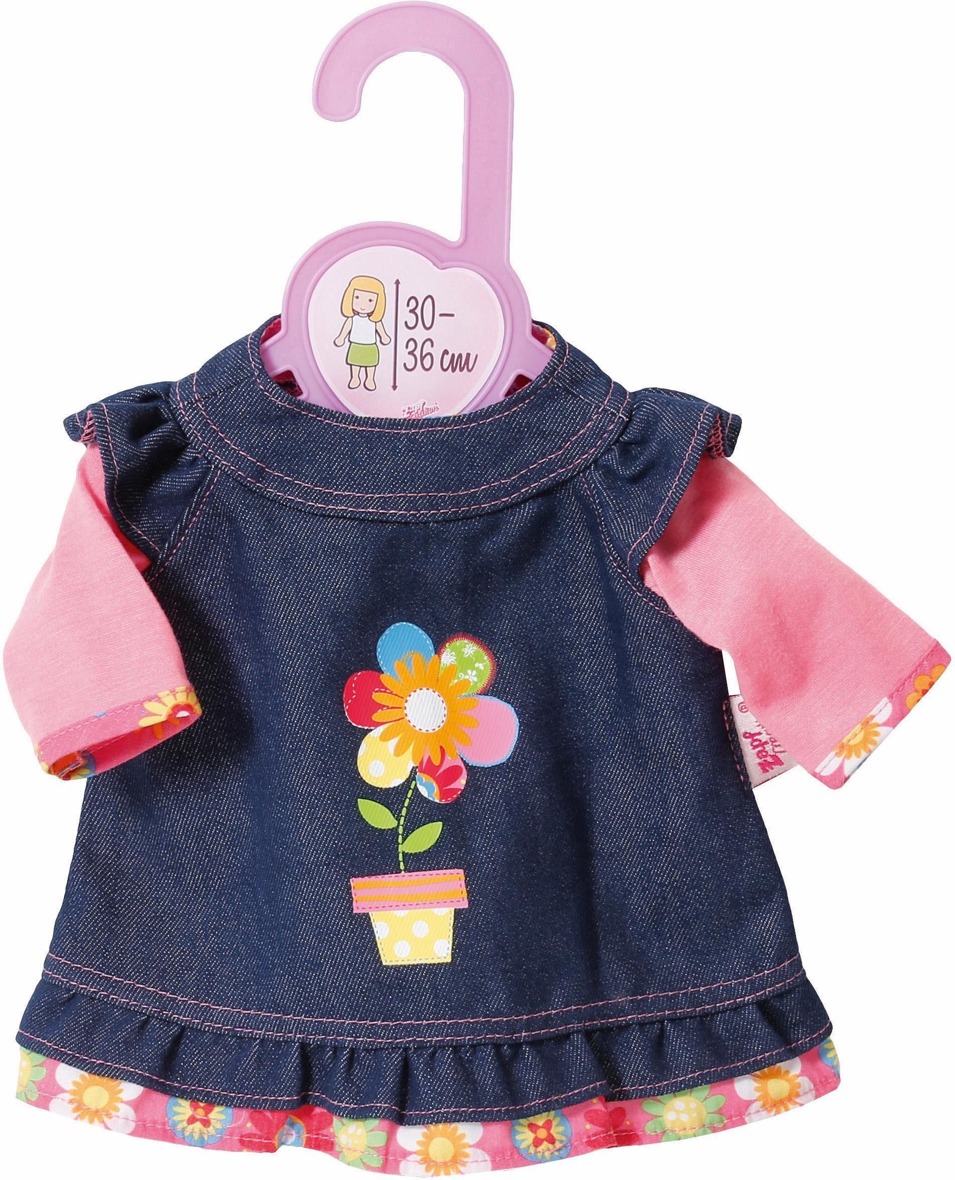 Zapf Creation Puppenbekleidung Größe 30-36 cm, »Dolly Moda Jeanskleid«