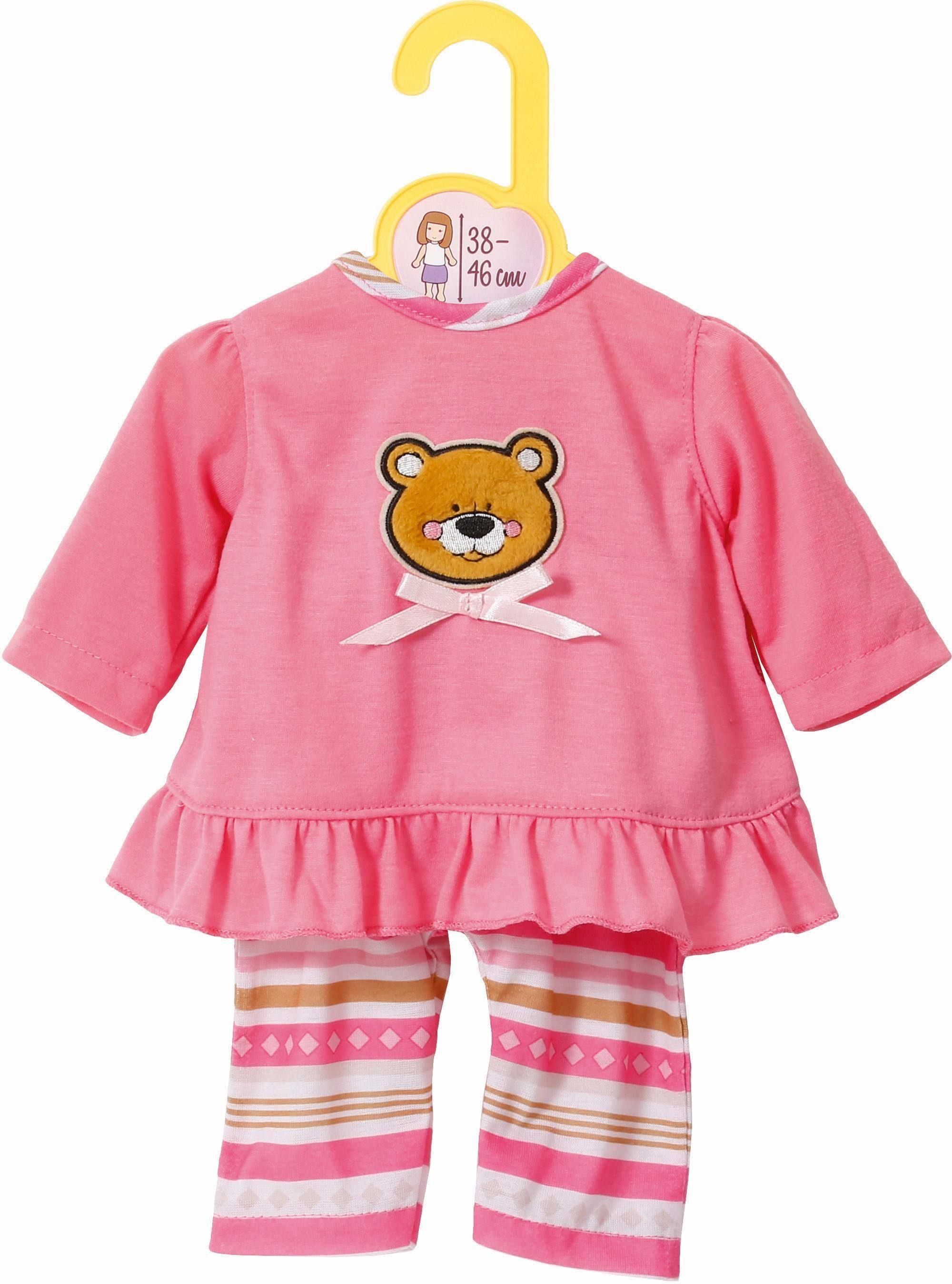 Zapf Creation Puppenbekleidung Größe 38-46 cm, »Dolly Moda Pyjama«