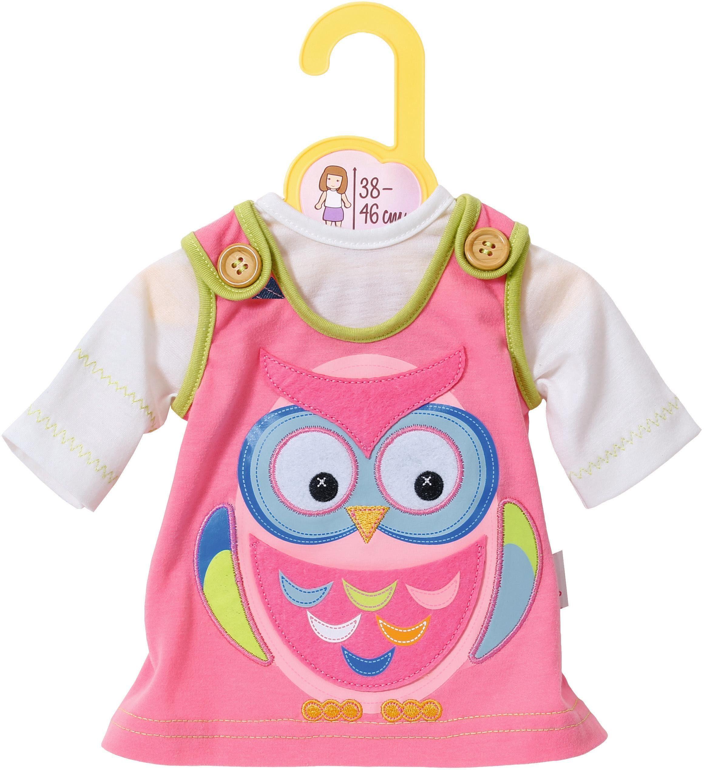 Zapf Creation Puppenbekleidung Größe 38-46 cm, »Dolly Moda Kleid mit Eule«