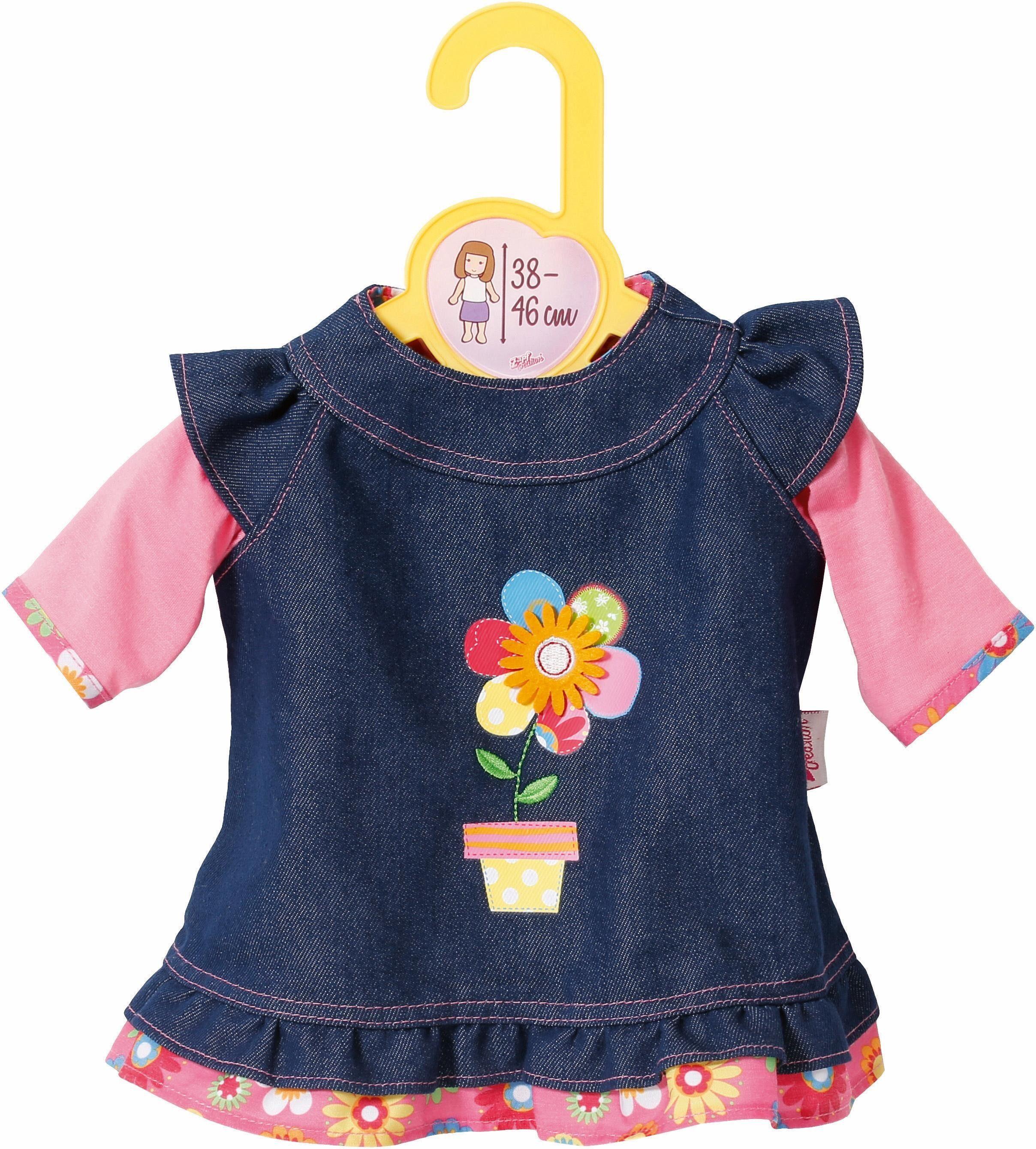 Zapf Creation Puppenbekleidung Größe 38-46 cm, »Dolly Moda Jeanskleid«