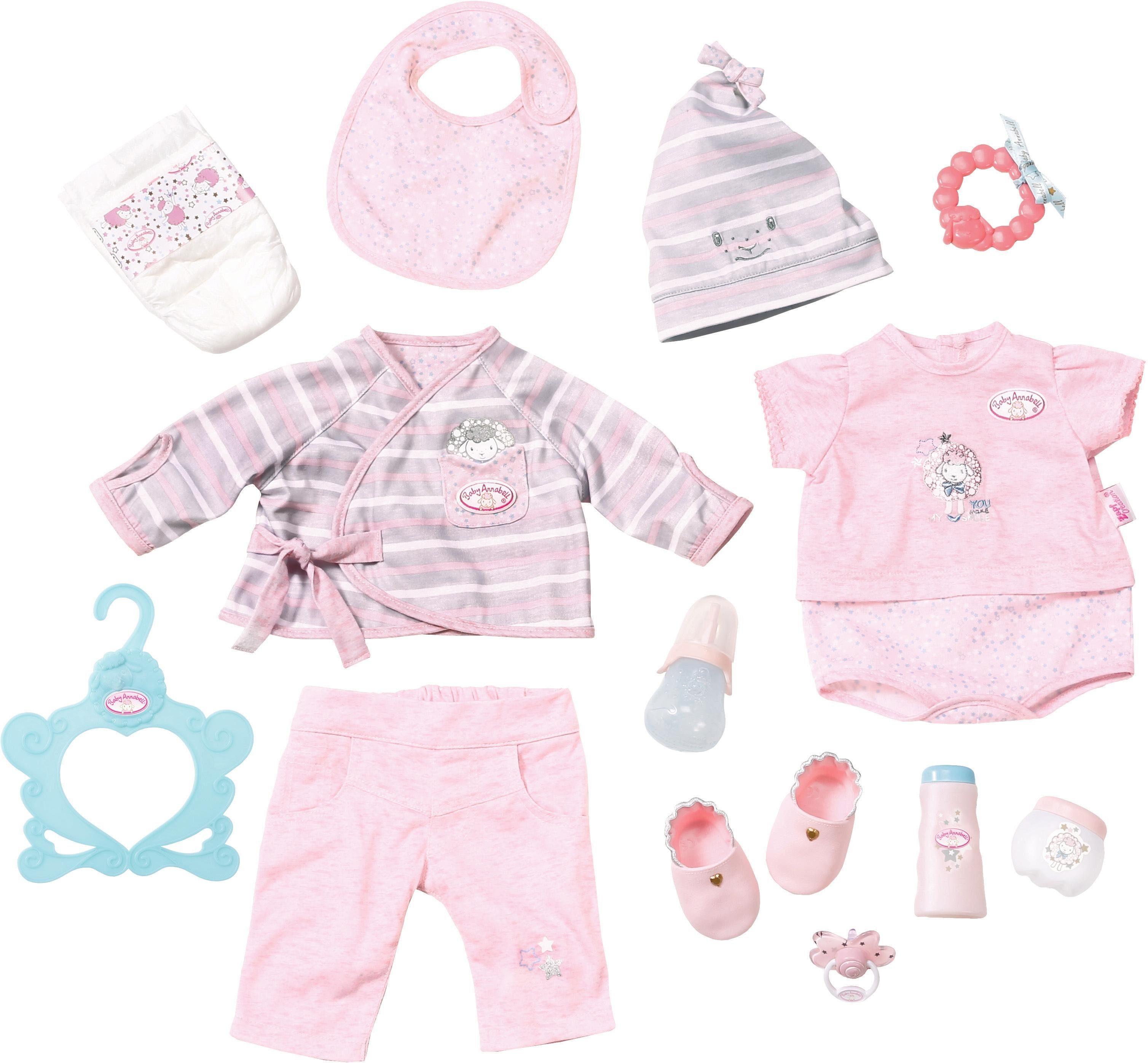 Zapf Creation Puppenbekleidungsset, »Baby Annabell® Deluxe Erstausstattung«
