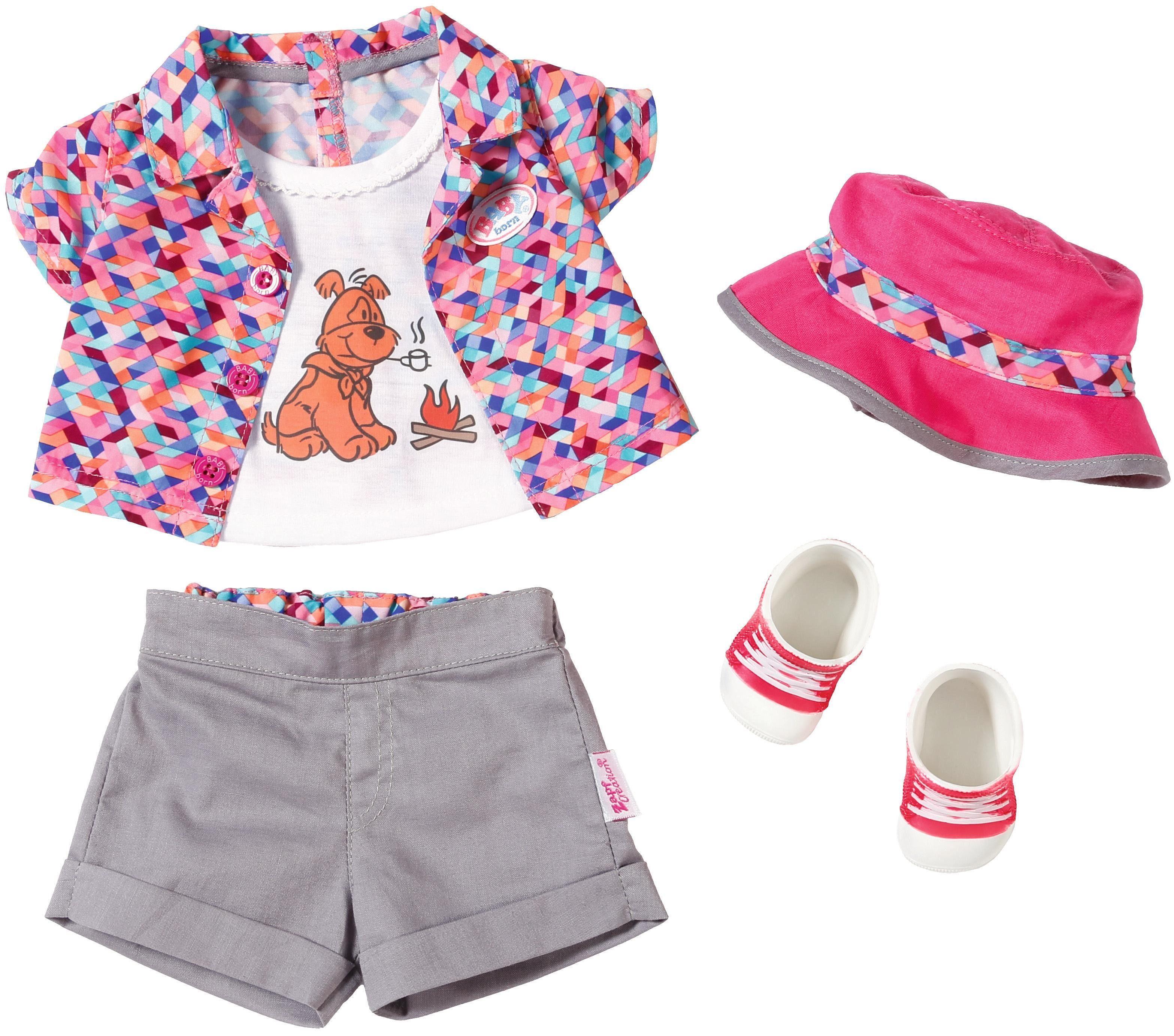 Zapf Creation Puppenbekleidung Größe 43 cm , »BABY born® Play&Fun Deluxe CampingOutfit«