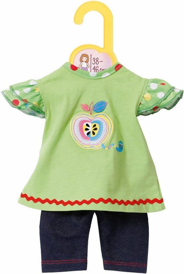 Zapf Creation Puppenbekleidung Größe 38-46 cm,  Dolly Moda Shirt mit Leggings  online kaufen