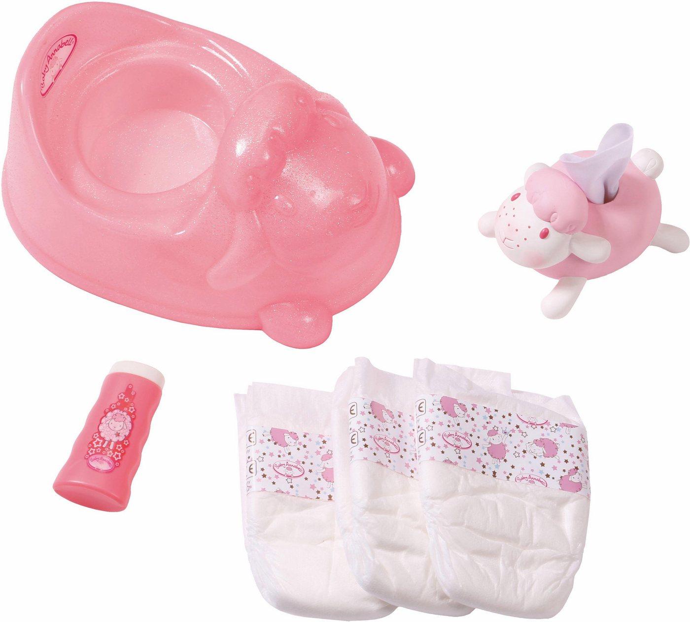 unisex Zapf Creation® Puppen Töpfchen »Baby Annabell® Training Set« rosa  Puppen & Zubehoer