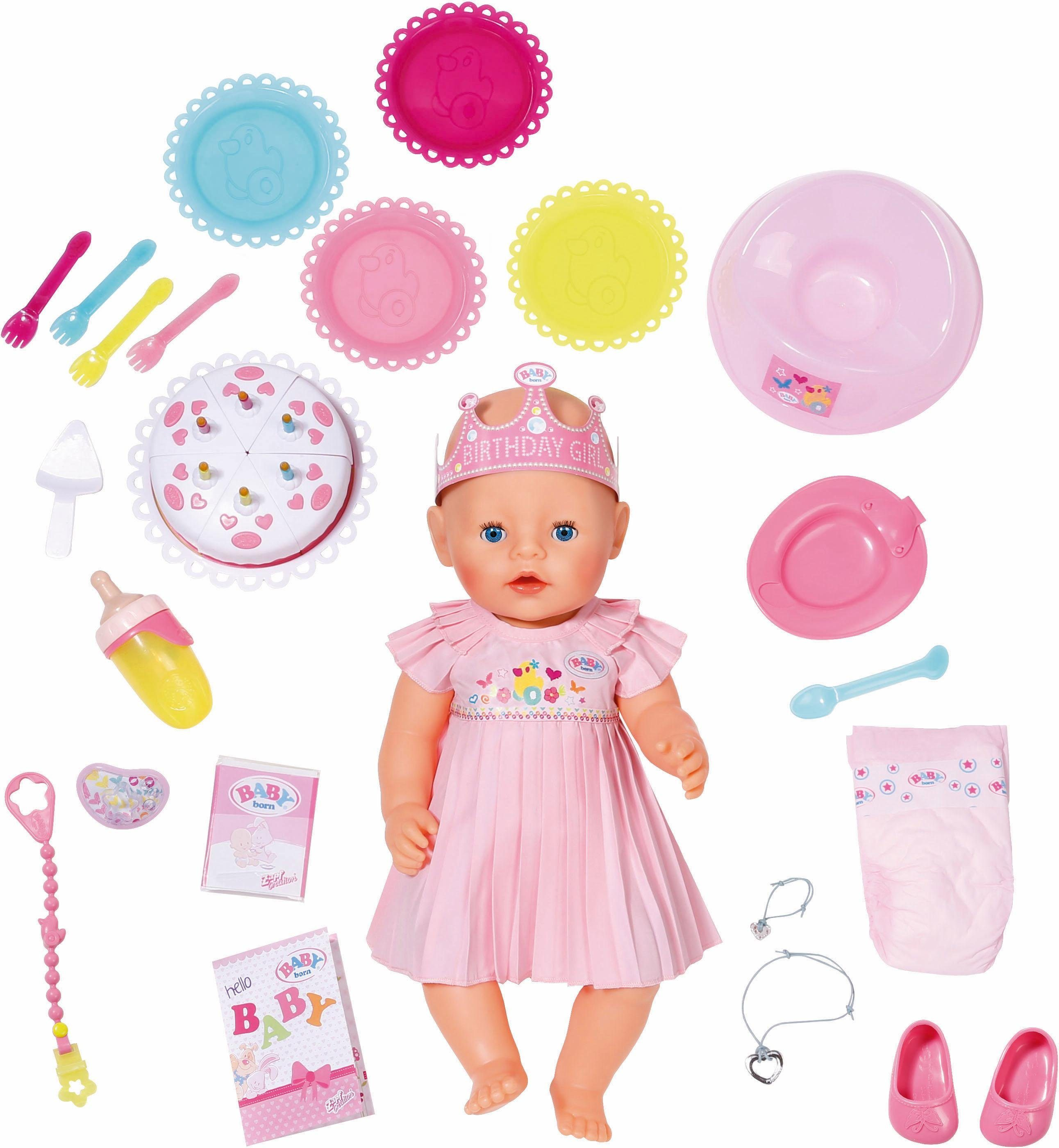 Zapf Creation Interaktive Babypuppe , »BABY born® Interactive Happy Birthday«