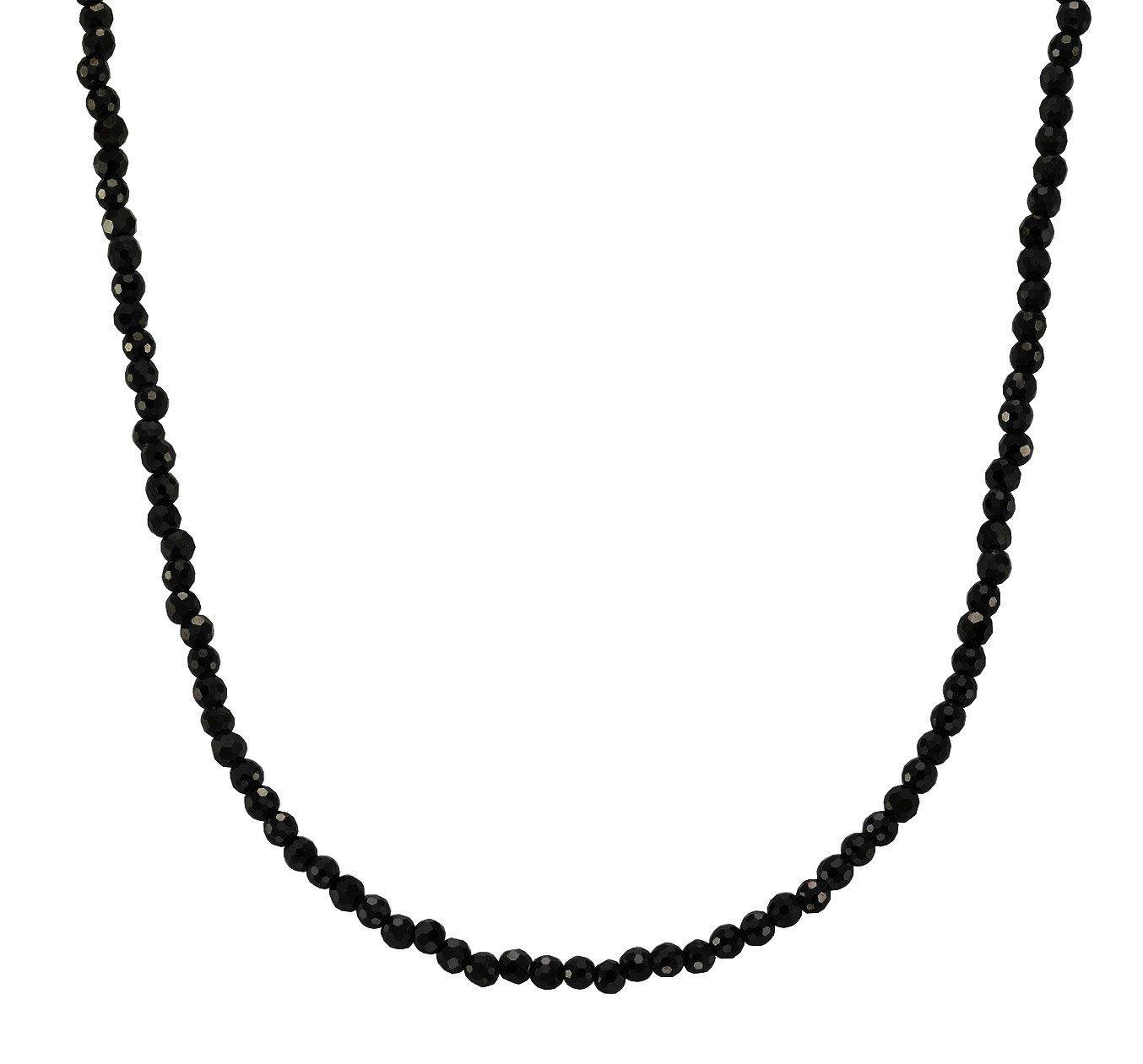 Firetti Collier »925-/ Sterling Silber rhodiniert Zirkonia schwarz«