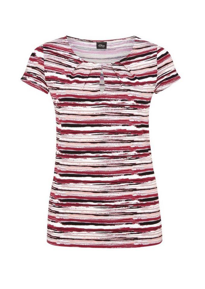 s.Oliver BLACK LABEL Feminines Printshirt