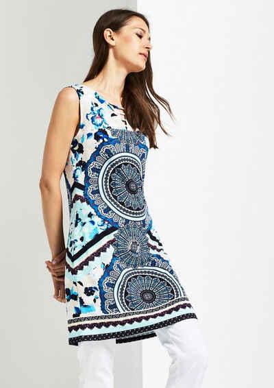 COMMA Sommerliches Jerseykleid im Mustermix Sale Angebote Reuthen