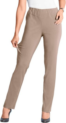 Classic Basics Trousers With Stretch-share