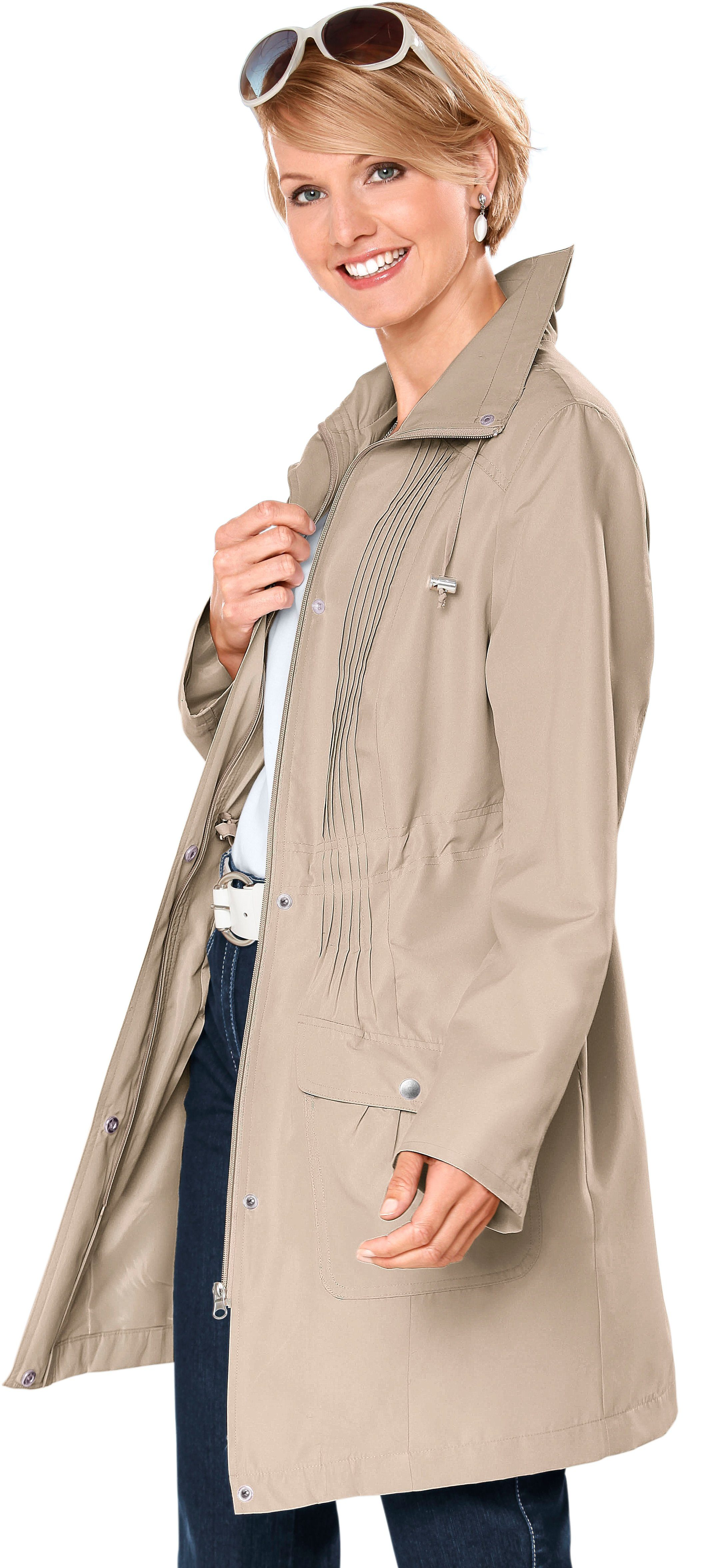 Classic Basics Jacke in Microfaser-Qualität