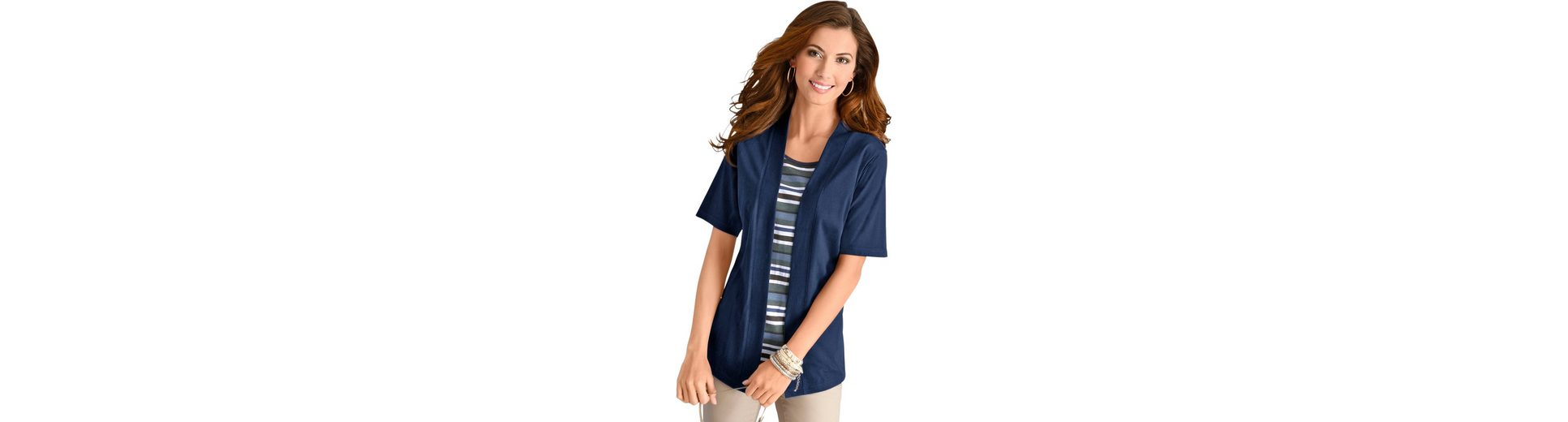 Classic Basics Shirt im beliebten Lagen-Look Billig 2018 Neu DFMRUXoB