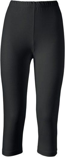 Classic Basics Capri-Leggings in toller Farbvielfalt